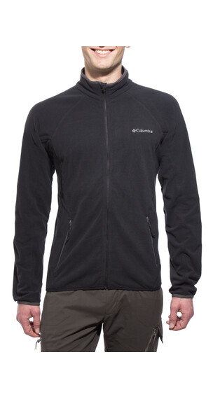 Columbia Summit Rush - Chaqueta Hombre - Full Zip negro